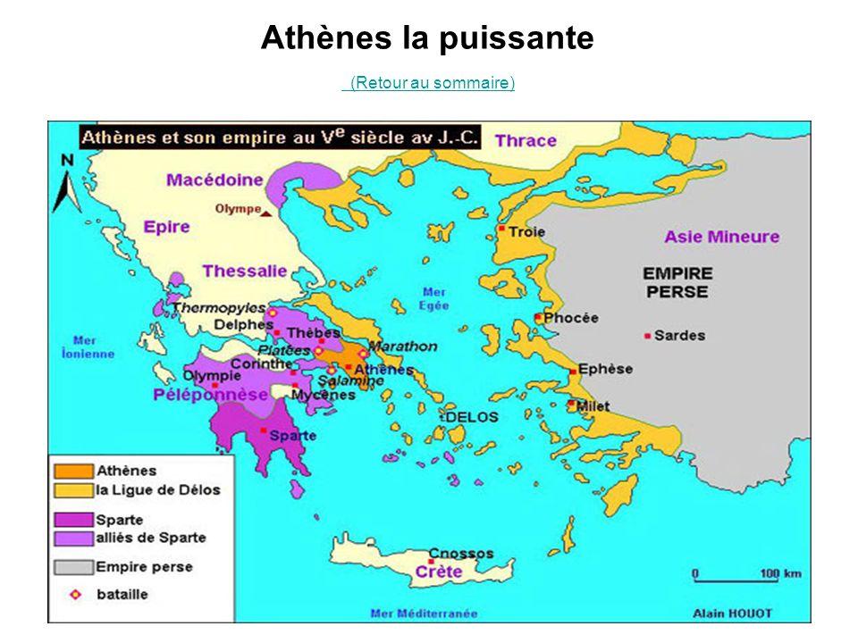Athènes la puissante (Retour au sommaire)