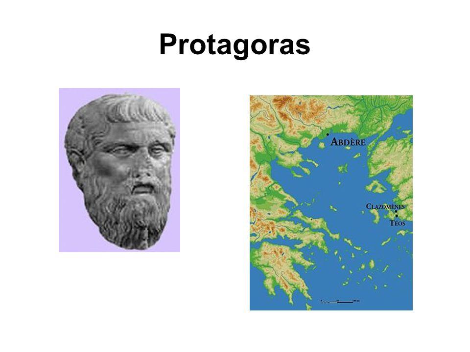 Protagoras Le plus renommé des sophistes, Protagoras fit fureur à chacun de ses passages à Athènes.