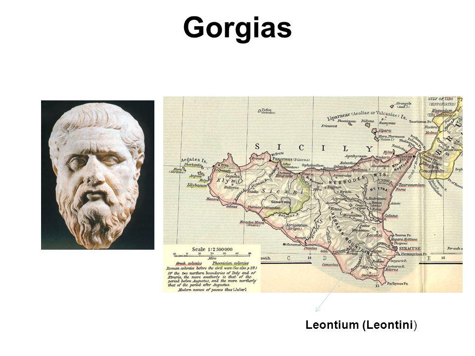 Gorgias Leontium (Leontini) Gorgias.