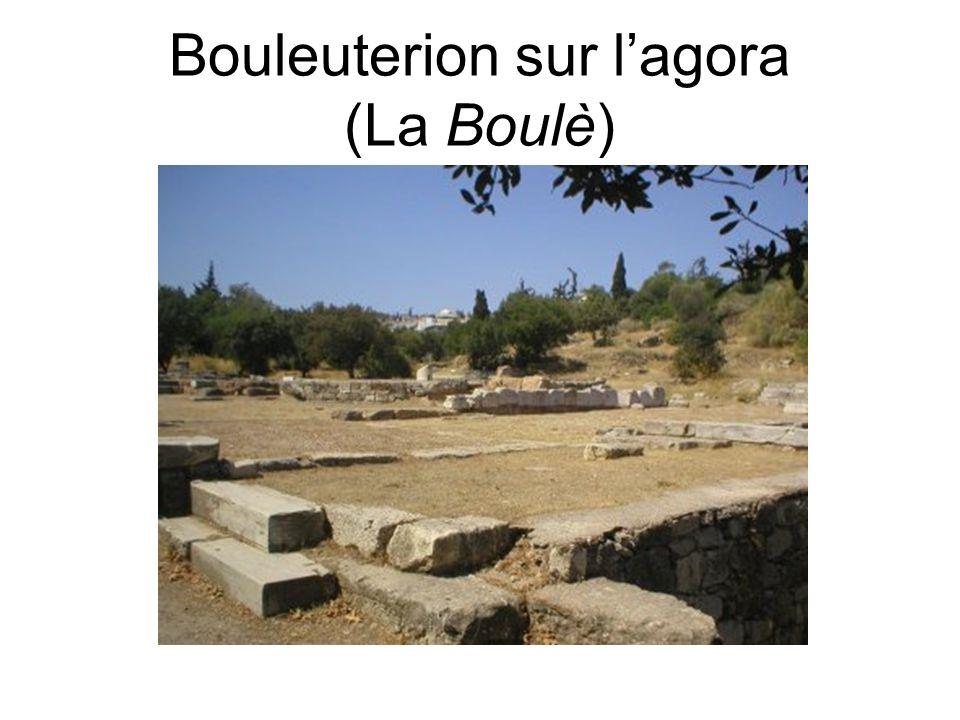 Bouleuterion sur l'agora (La Boulè)