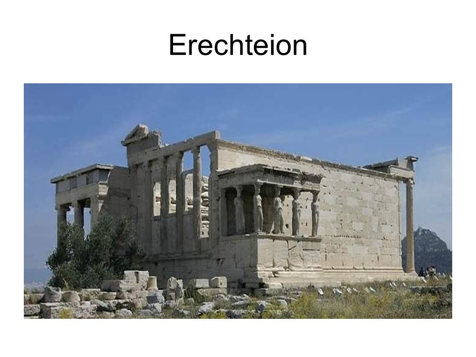 Erechteion Style ionique.