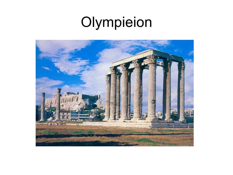 Olympieion L Olympieion, le temple de Zeus Olympien est l un des plus anciens sanctuaires d Athènes.
