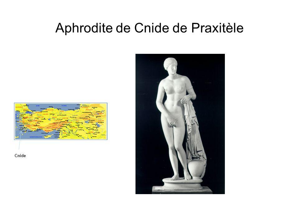 Aphrodite de Cnide de Praxitèle
