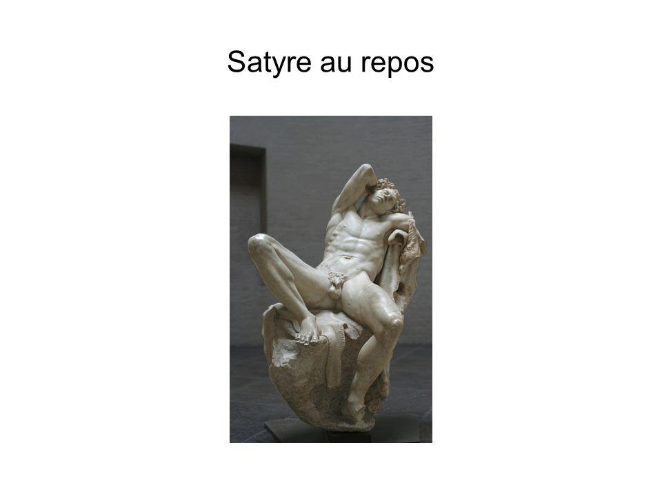 Satyre au repos Fin du -3ème siècle.