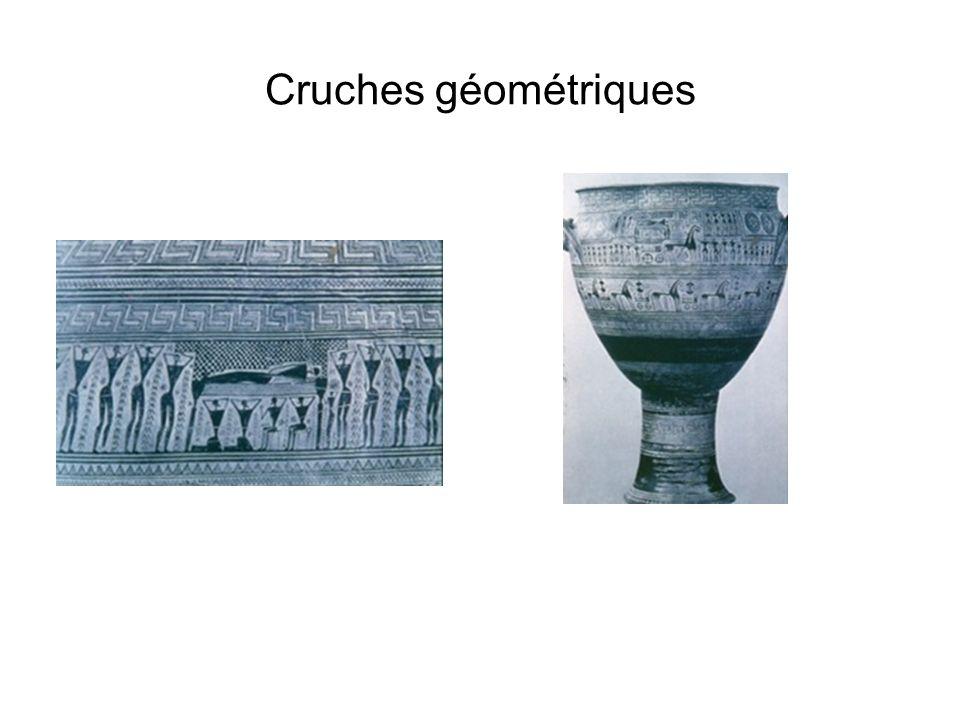 Cruches géométriques