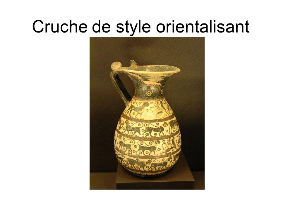 Cruche de style orientalisant