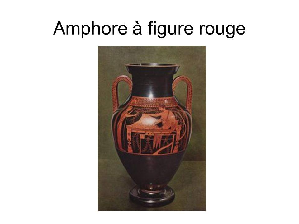 Amphore à figure rouge Héraclès au repos, amphore du Peintre d Andokidès, v. 520 av. J.-C.