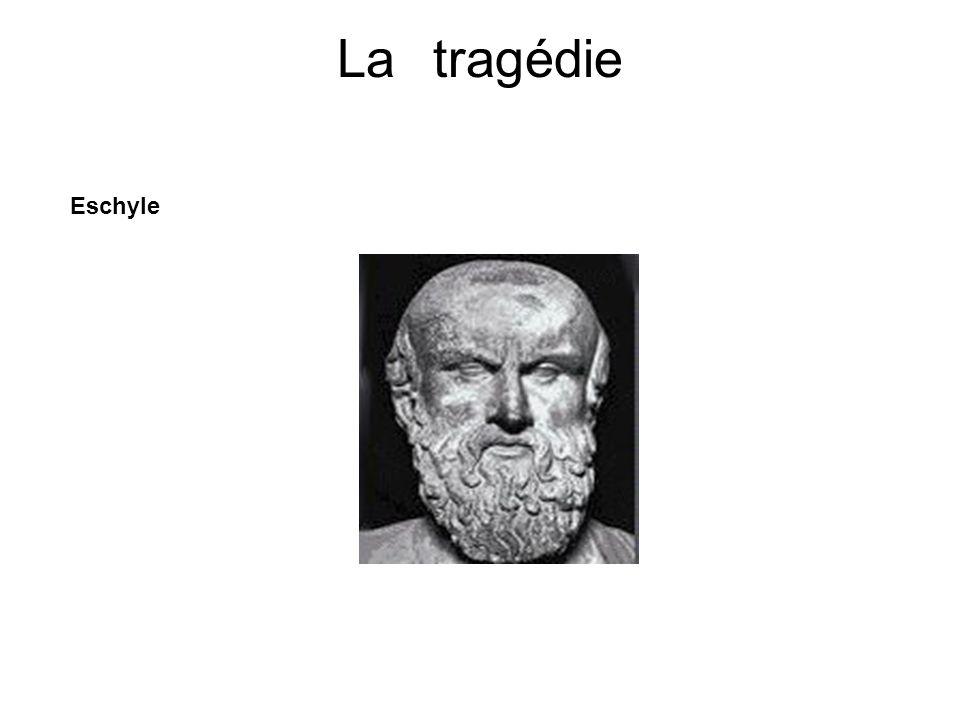 La tragédie Eschyle.