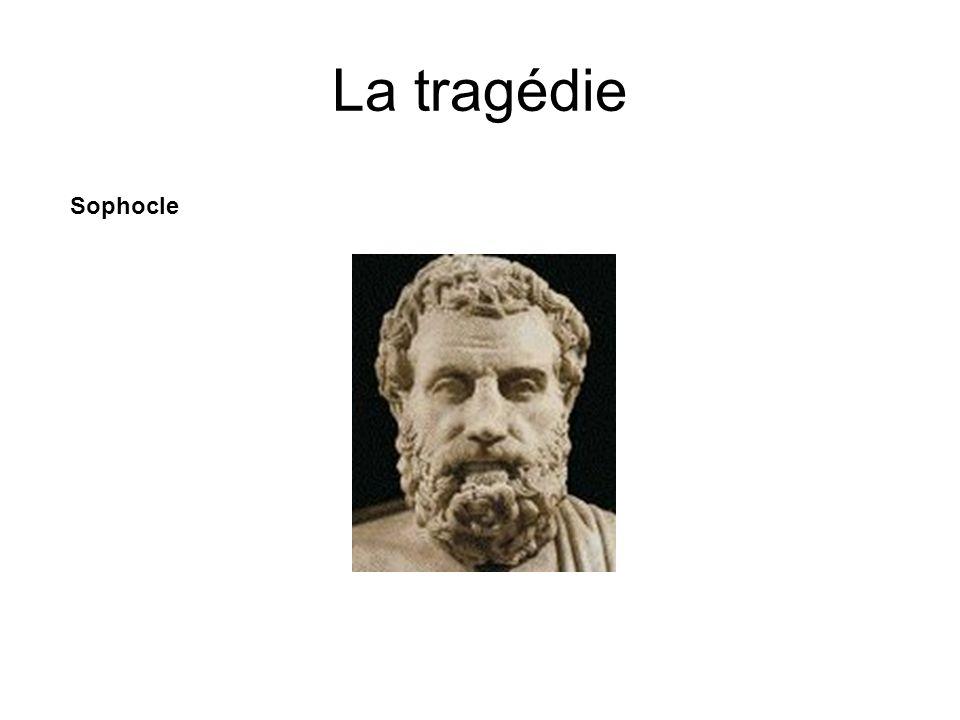 La tragédie Sophocle Né vers -496 et mort vers -405.