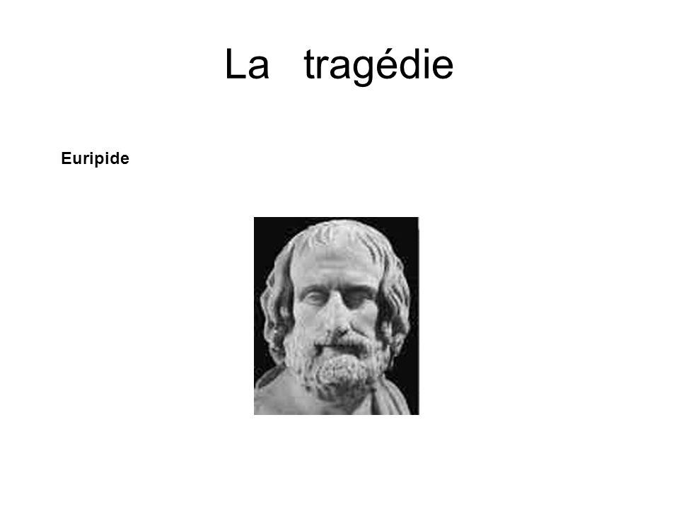 La tragédie Euripide Né en -480 ( ) et mort en -406.