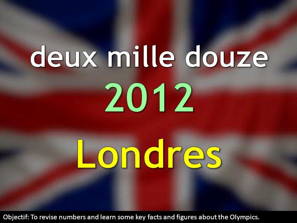 2012 Londres deux mille douze