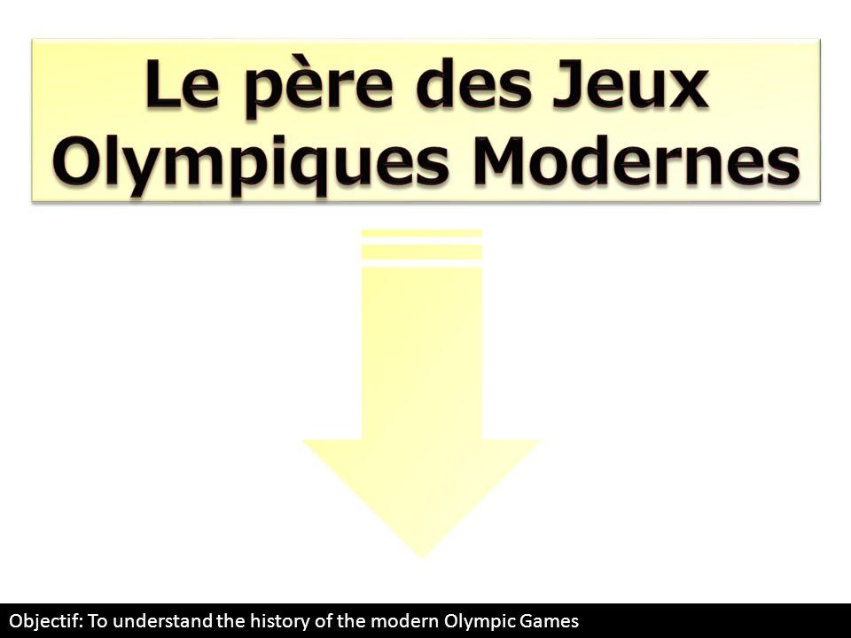Le père des Jeux Olympiques Modernes