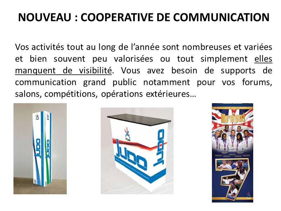 NOUVEAU : COOPERATIVE DE COMMUNICATION
