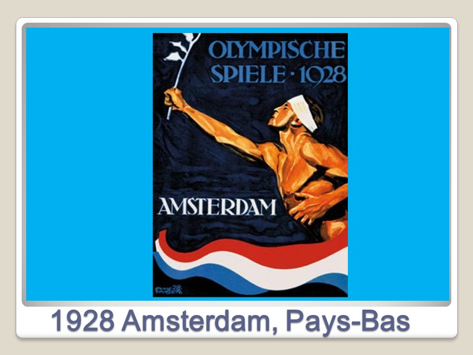 1928 Amsterdam, Pays-Bas