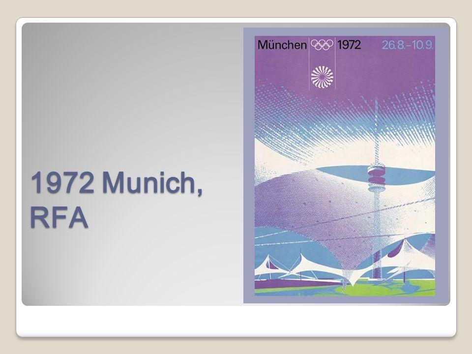 1972 Munich, RFA