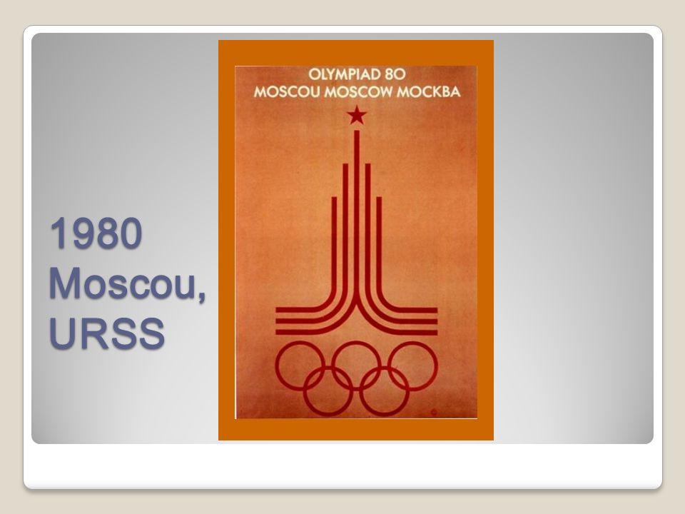1980 Moscou, URSS