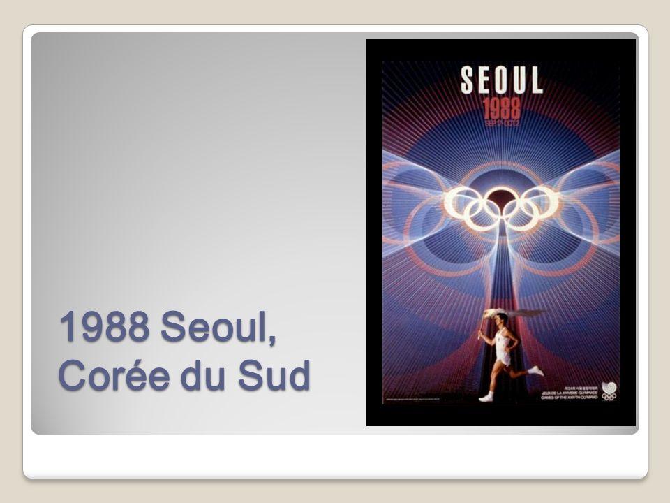1988 Seoul, Corée du Sud