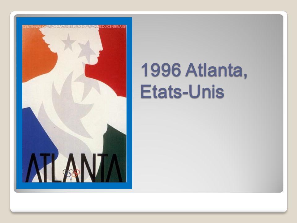 1996 Atlanta, Etats-Unis