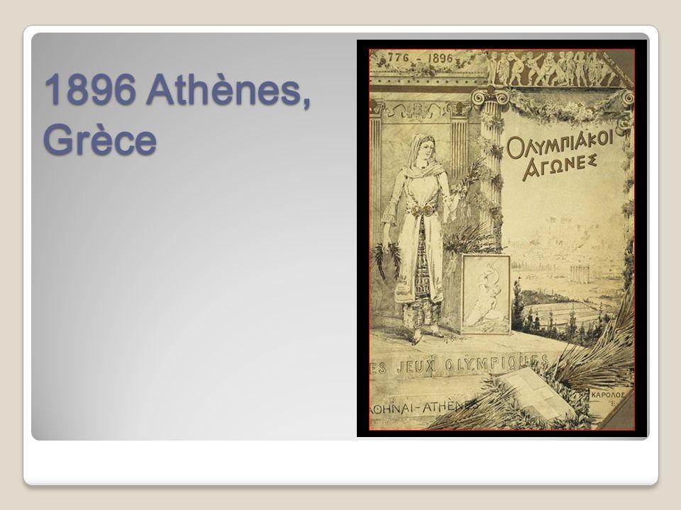1896 Athènes, Grèce