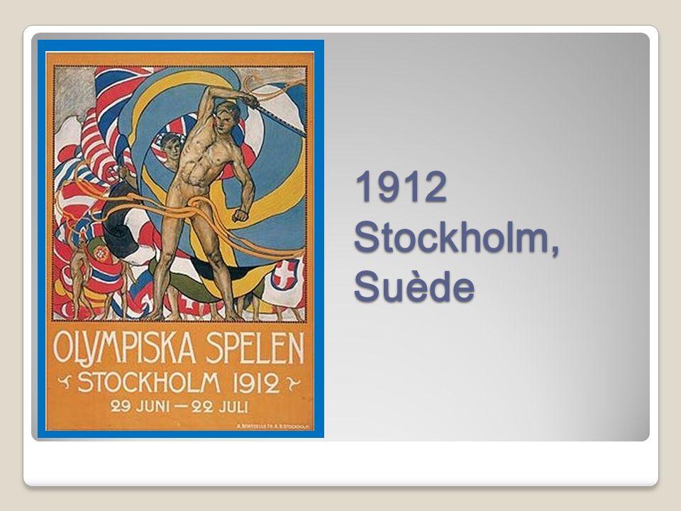 1912 Stockholm, Suède