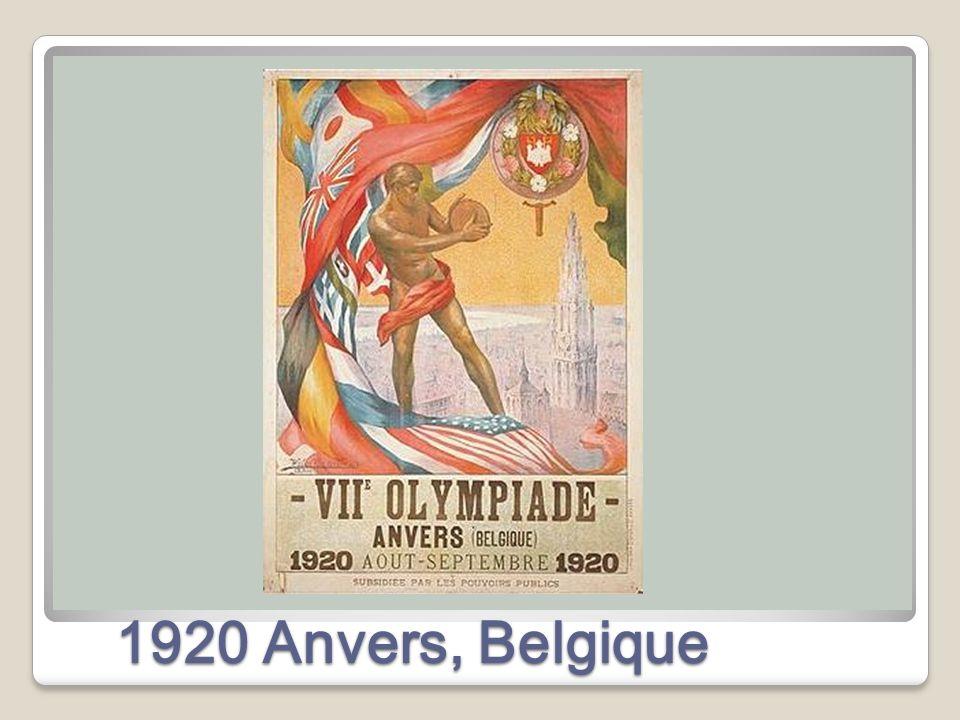 1920 Anvers, Belgique