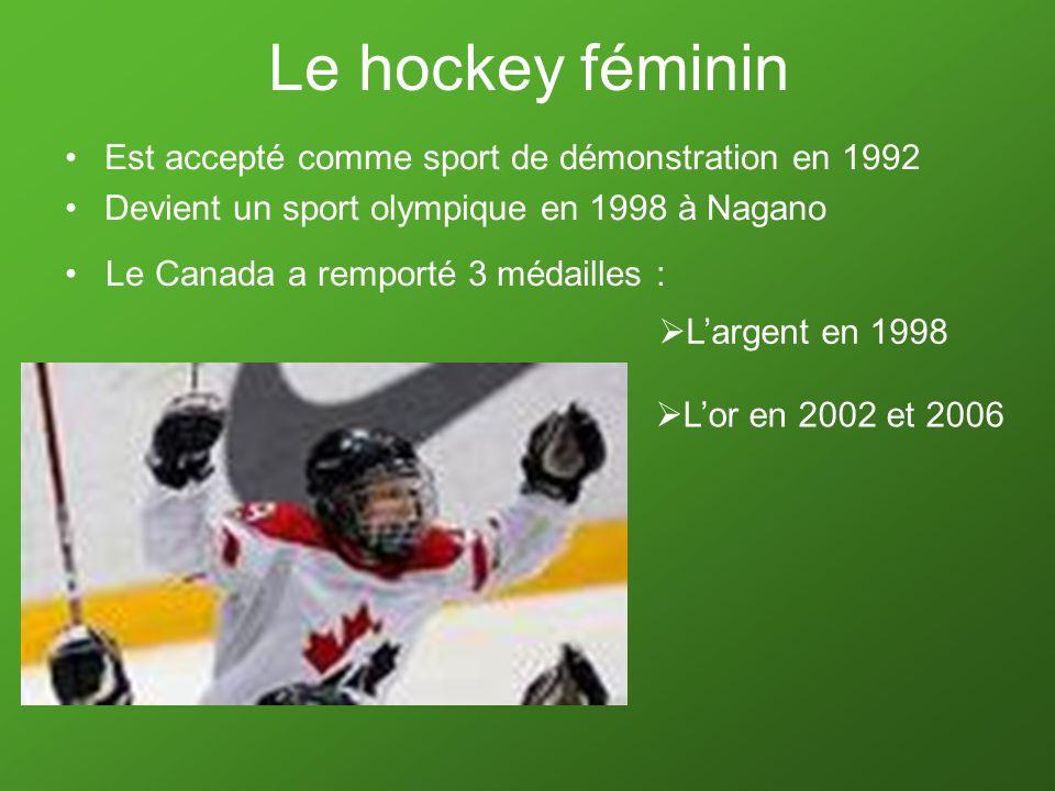 Le hockey féminin Est accepté comme sport de démonstration en 1992