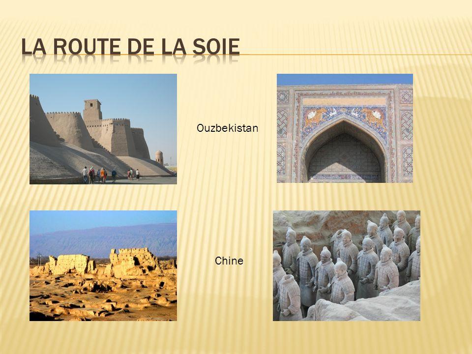 La route de la soie Ouzbekistan Chine