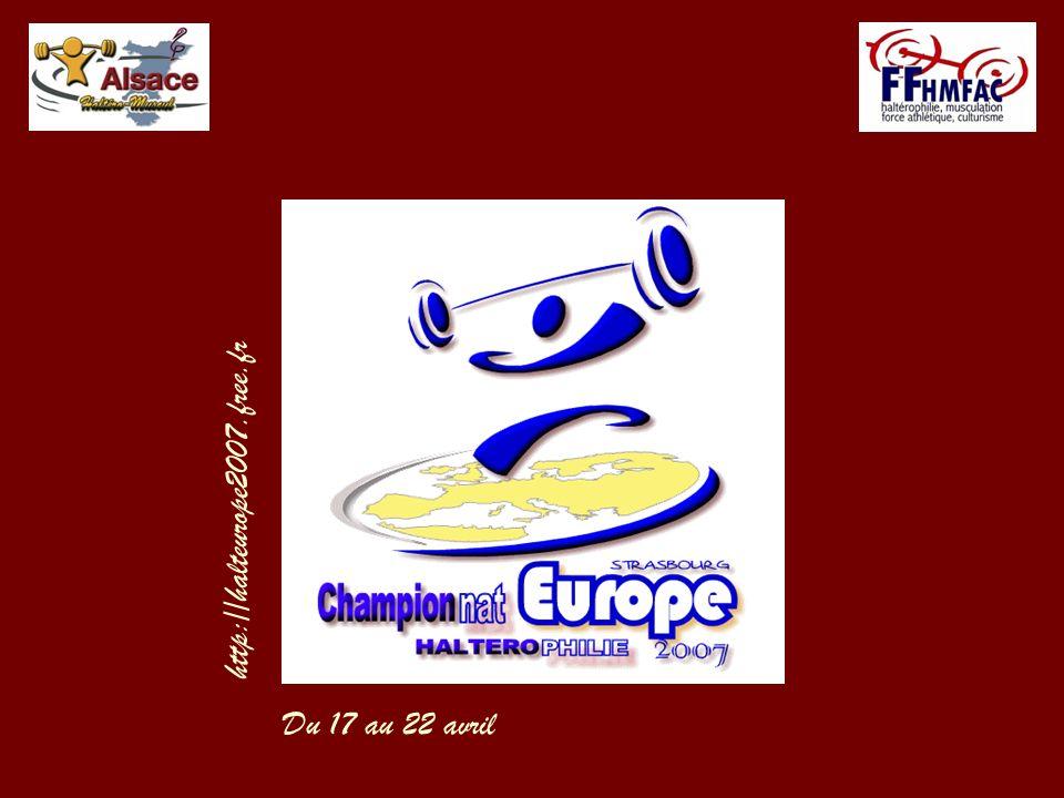 http://halteurope2007.free.fr Du 17 au 22 avril