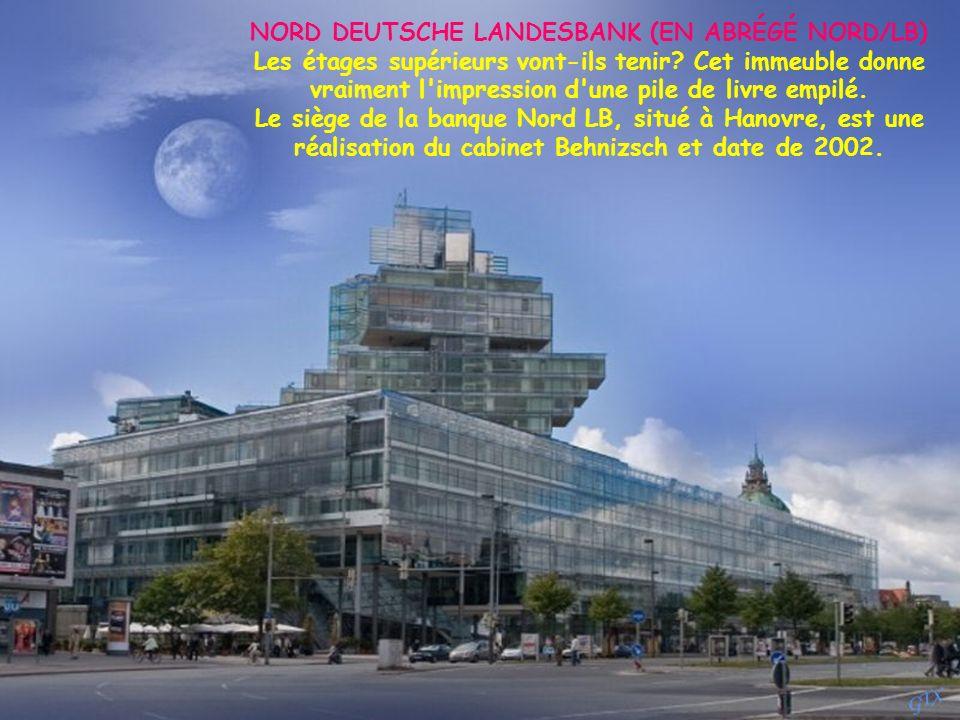 NORD DEUTSCHE LANDESBANK (EN ABRÉGÉ NORD/LB)