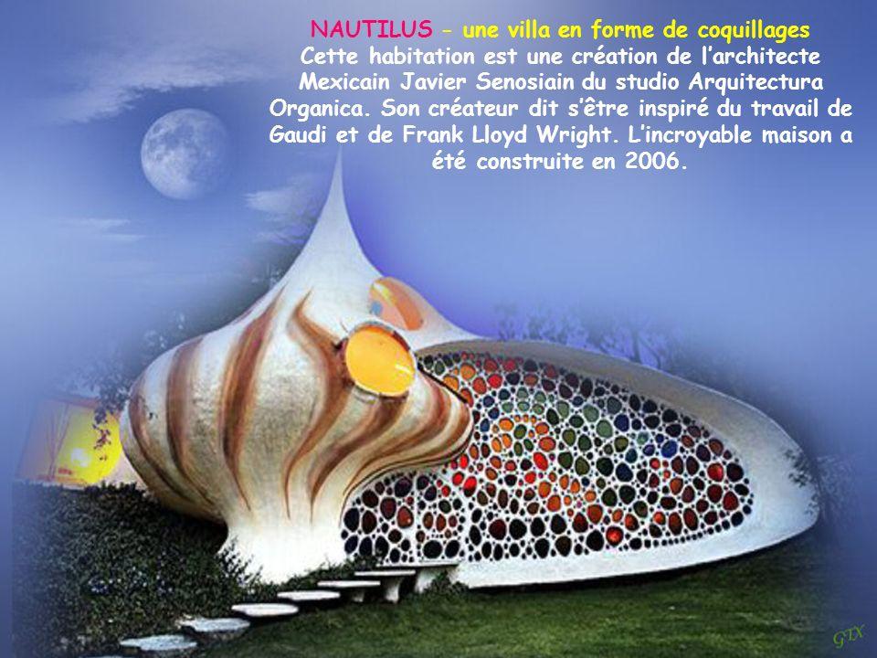 NAUTILUS - une villa en forme de coquillages
