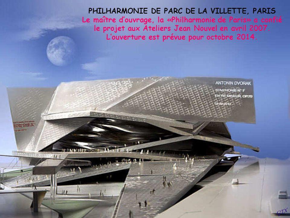 PHILHARMONIE DE PARC DE LA VILLETTE, PARIS