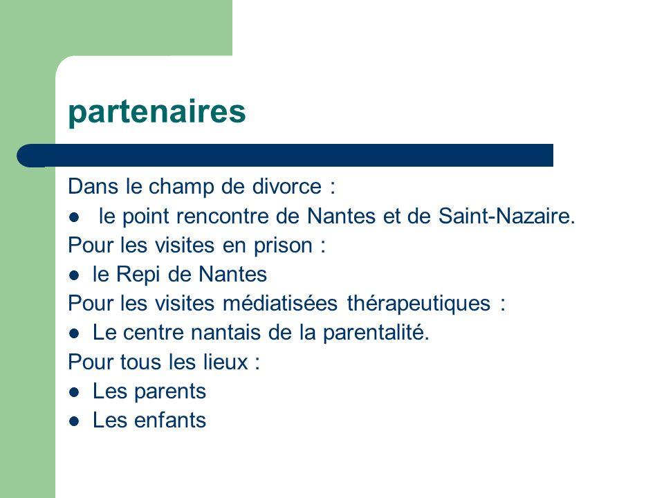 partenaires Dans le champ de divorce :
