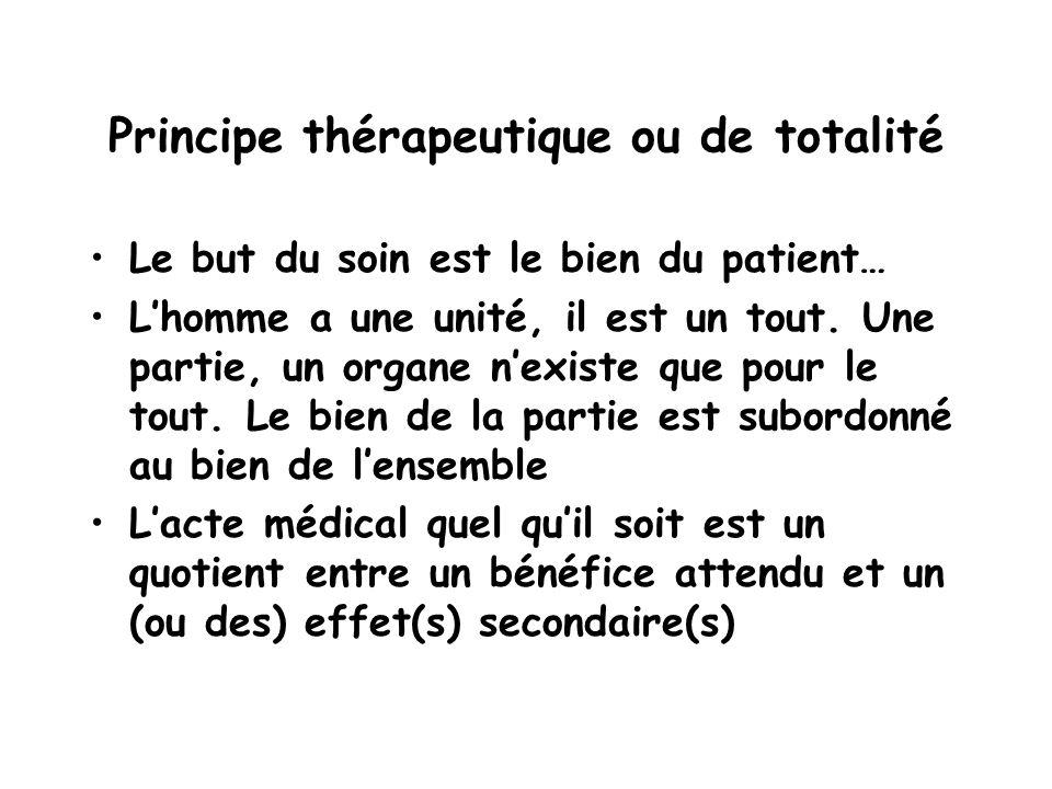 Principe thérapeutique ou de totalité