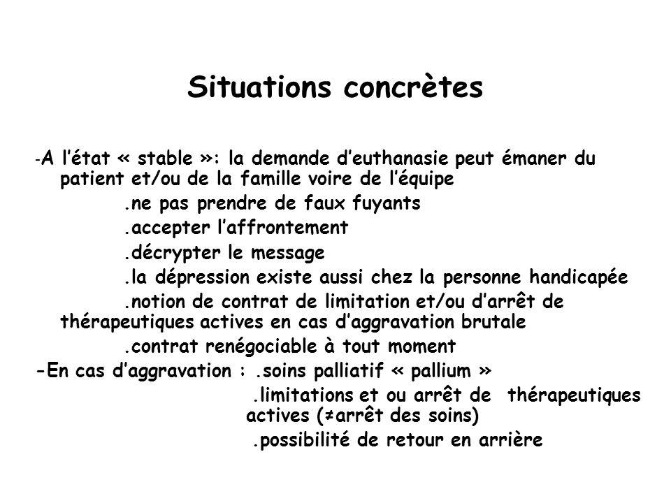 .limitations et ou arrêt de thérapeutiques actives (≠arrêt des soins)