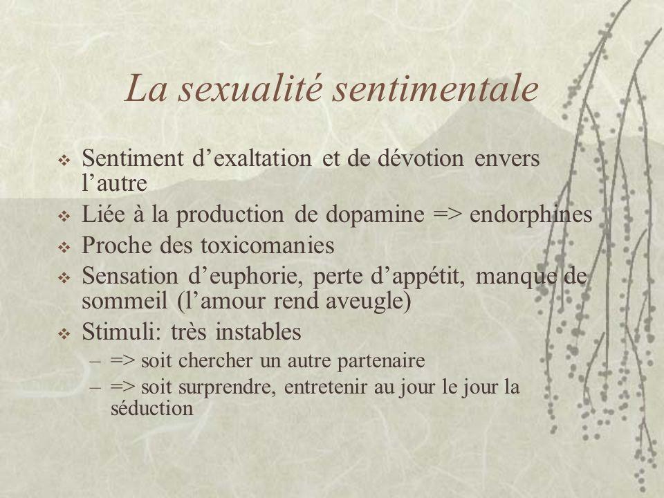 La sexualité sentimentale