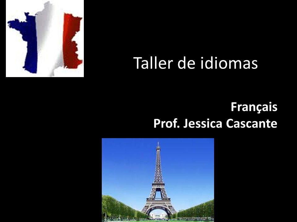 Français Prof. Jessica Cascante