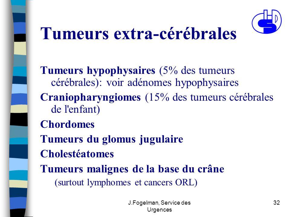 Tumeurs extra-cérébrales