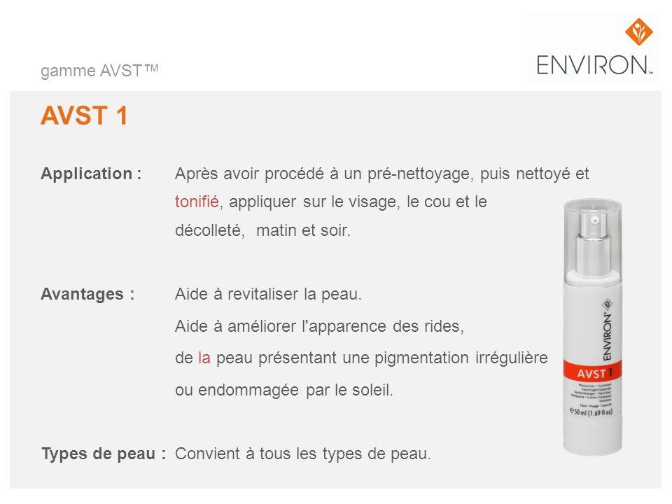 gamme AVST™ AVST 1.