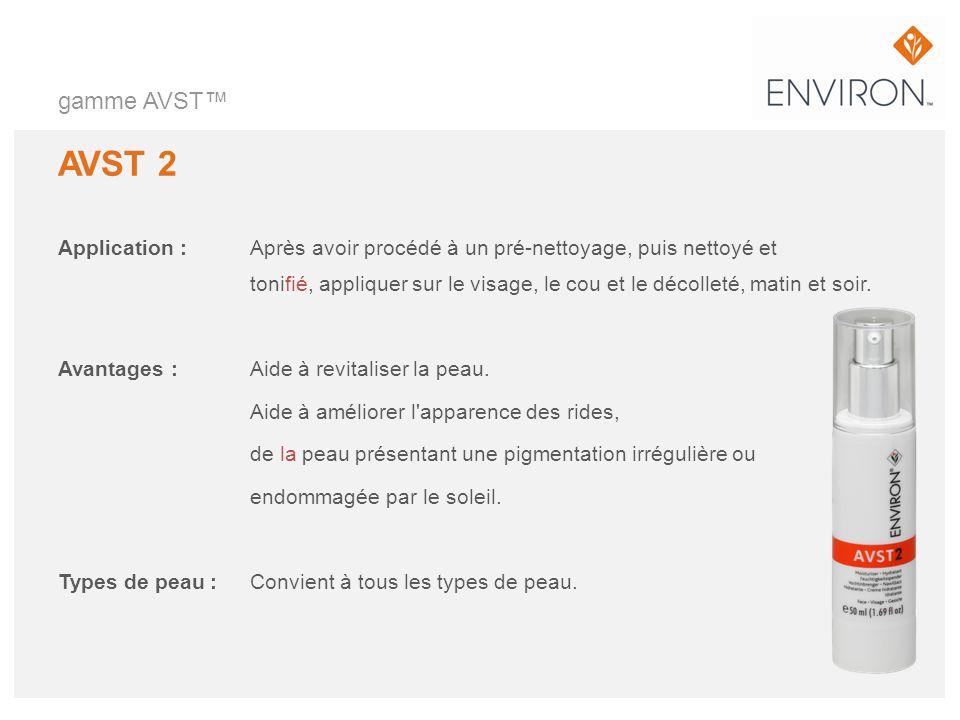 gamme AVST™ AVST 2.