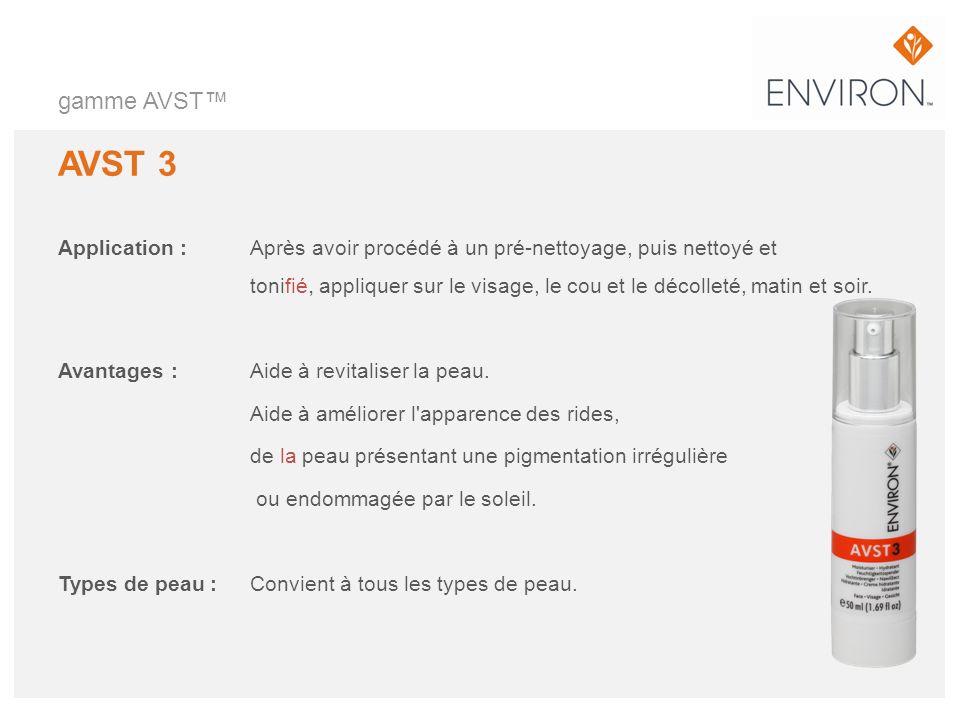 gamme AVST™ AVST 3.