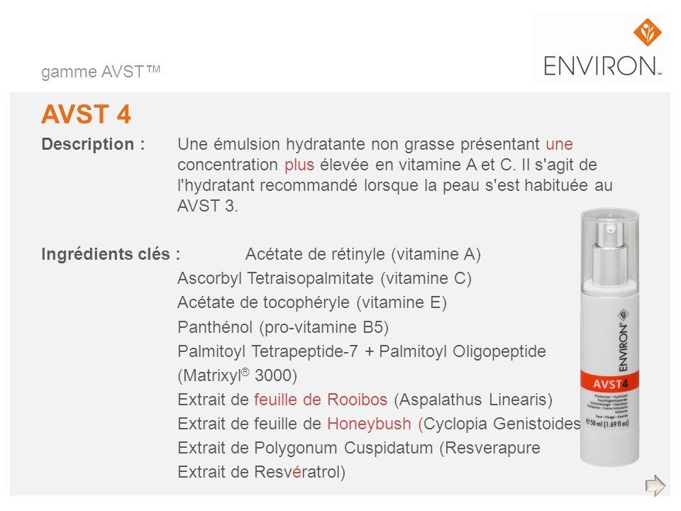 gamme AVST™ AVST 4.