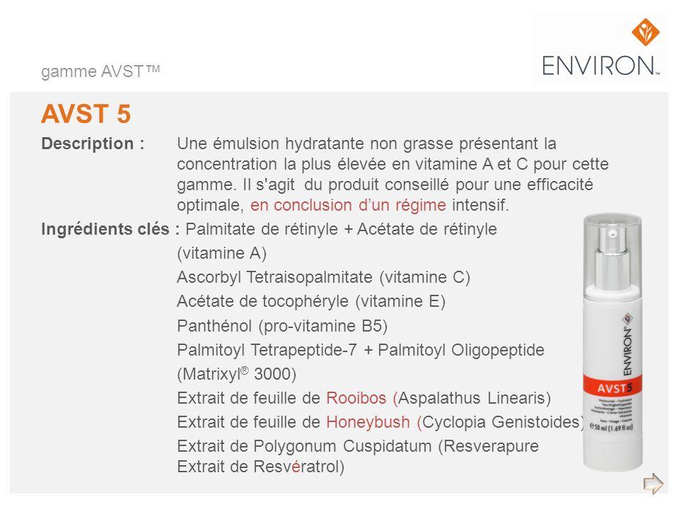 gamme AVST™ AVST 5.