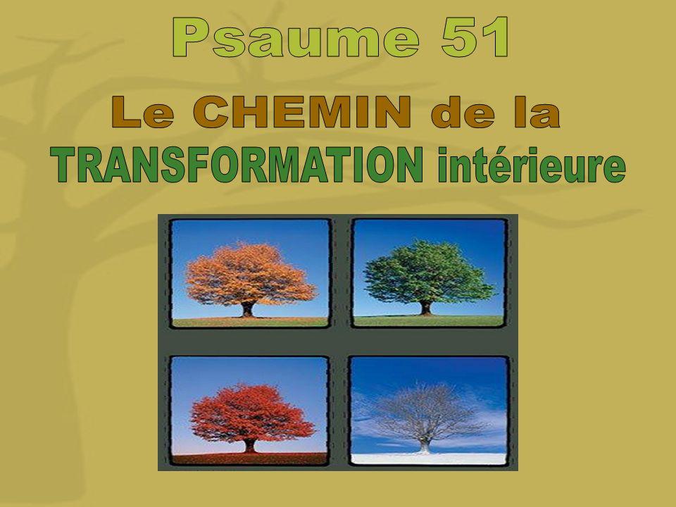 TRANSFORMATION intérieure
