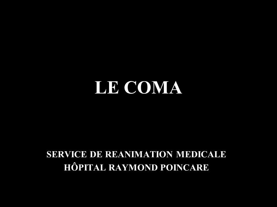 SERVICE DE REANIMATION MEDICALE HÔPITAL RAYMOND POINCARE