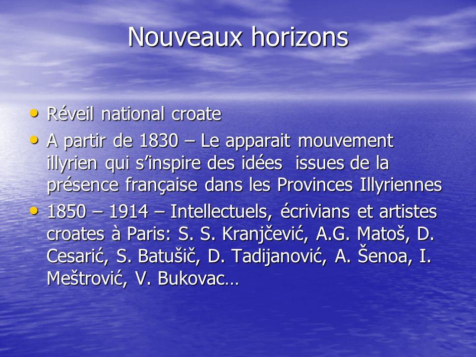 Nouveaux horizons Réveil national croate