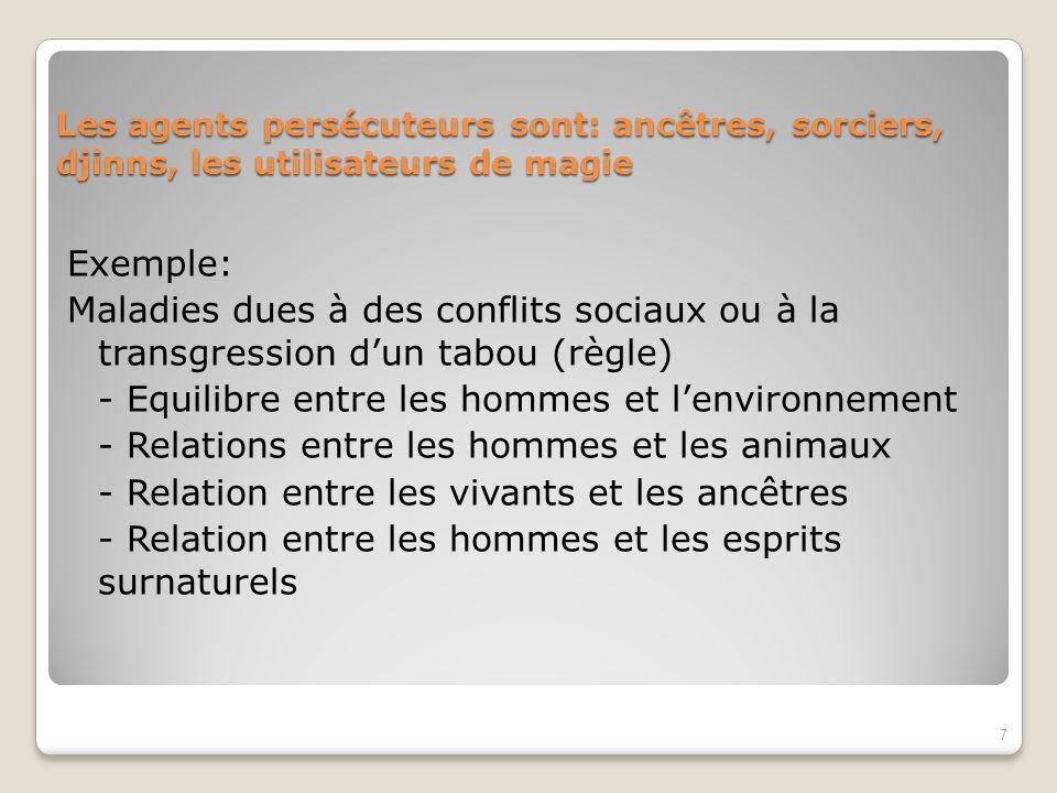 - Equilibre entre les hommes et l'environnement