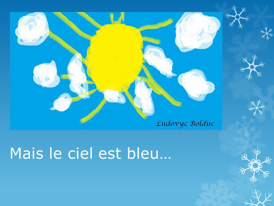 Ludovyc Bolduc Mais le ciel est bleu…