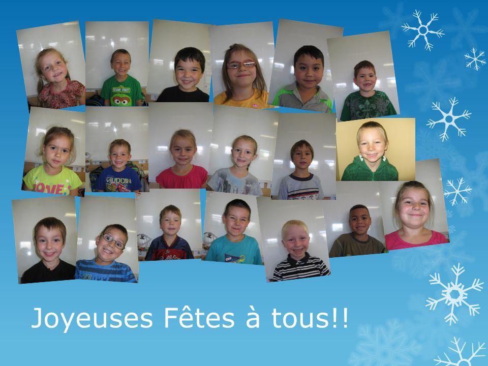 Joyeuses Fêtes à tous!!