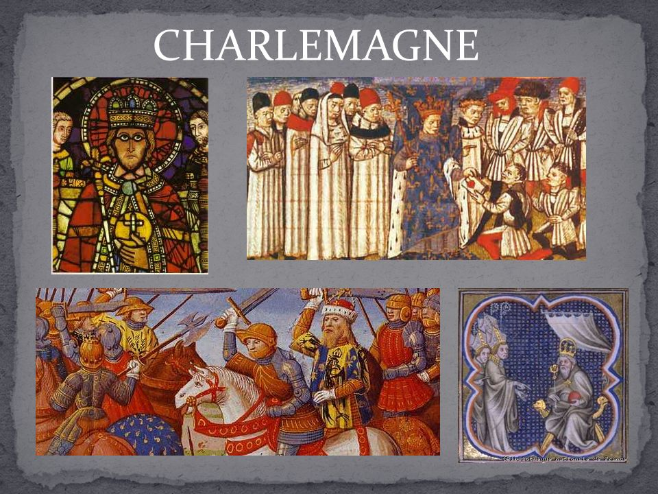 CHARLEMAGNE Travail collectif.
