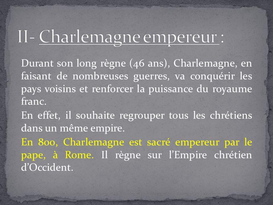II- Charlemagne empereur :